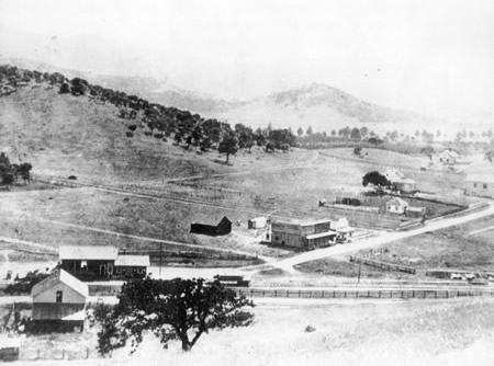 Novato circa 1890's. Oldest Picture of Novato.