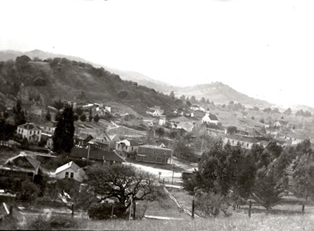 Downtown Novato 1915